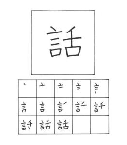 urutan kanji